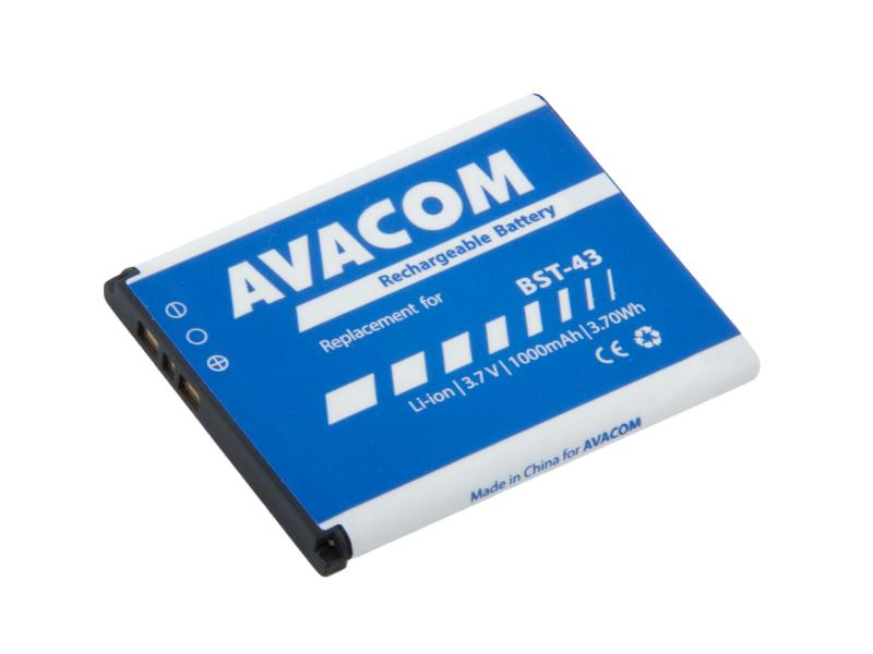 Baterie AVACOM GSSE-U100-S1000A do mobilu Sony Ericsson U100, Elm Li-Ion 3,7V 1000mAh