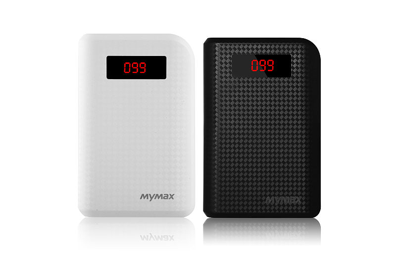 iMyMax Carbon Power Bank 10.000mAh, Black