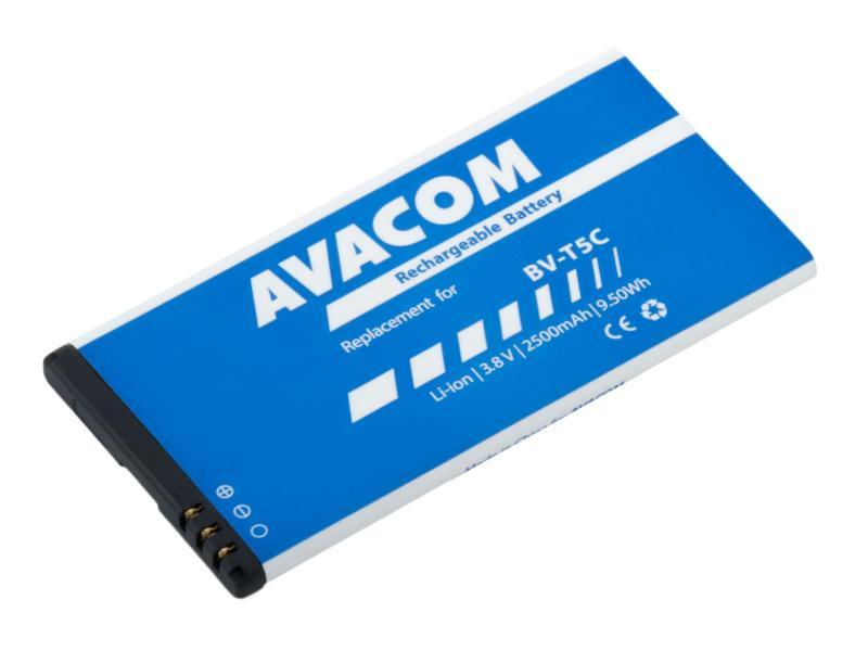 Baterie AVACOM GSMI-BVT5C-S2500 do mobilu Microsoft Lumia 640 Li-ion 3,8V 2500mAh (náhrada BV-T5C)