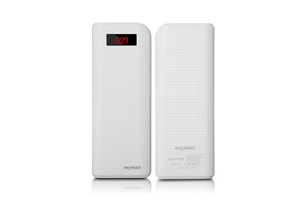 iMyMax Carbon Power Bank 20.000mAh, White
