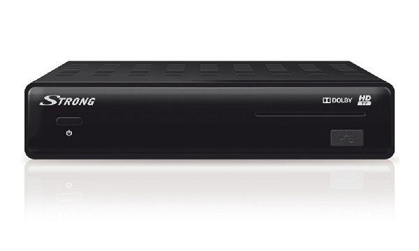 STRONG DVB-S2 HD přijímač SRT 7504 Irdeto/ Full HD/ S/PDIF/ Timeshift/ napájení 12V/ HDMI/ USB/ SCART