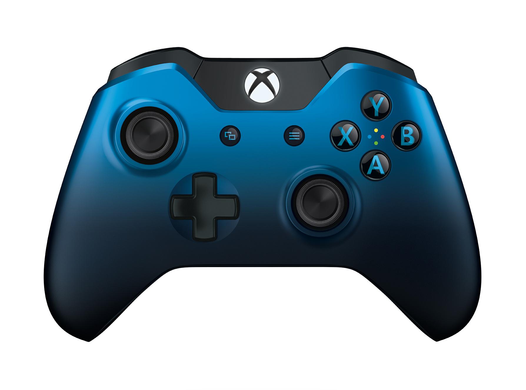 XBOX ONE - Bezdrátový ovladač Langley Dusk Shadow (modrý)