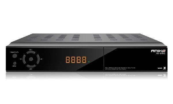 AMIKO DVB-S2 HD přijímač 8150 CXE/ Full HD/ MPEG2/ MPEG4/ HDMI/ USB/ RS232/ SCART/ LAN