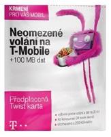 TWIST SIM karta V SÍTI, kredit 200 Kč /100 MB