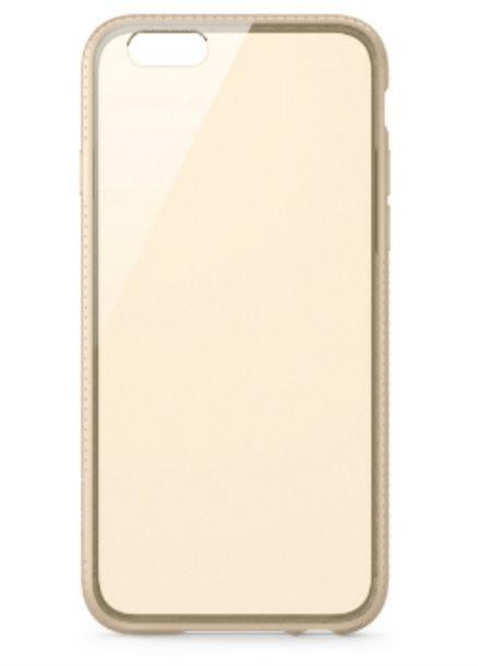 Belkin iPhone pouzdro Air Protect, průhledné zlaté pro iPhone 6 /6S