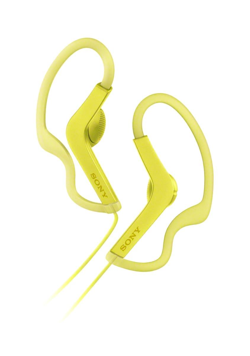 SONY MDR-AS210 Sportovní sluchátka s klipem - Yellow