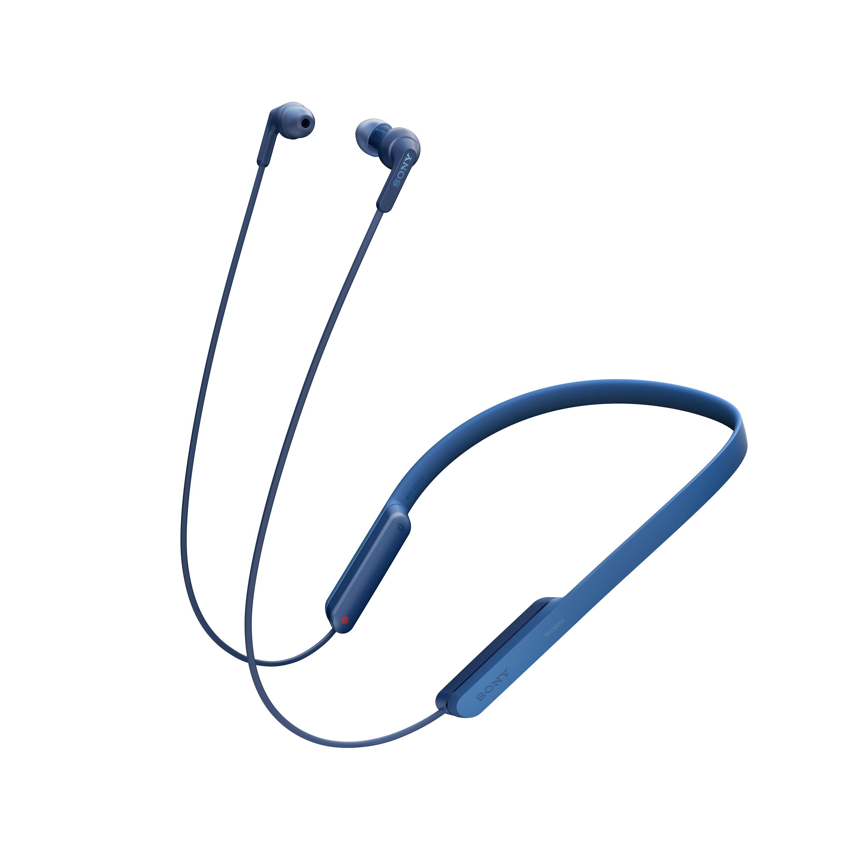 SONY MDR-XB70BT Bezdrátová sluchátka s pohodlným nošením za krkem - Blue