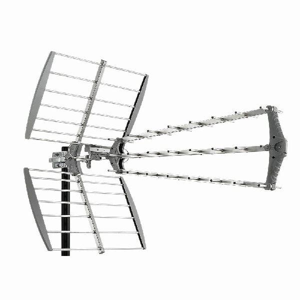 FUBA anténa DAT 912 LTE DVB-T pro venkovní použtí (zisk 16,5dB)