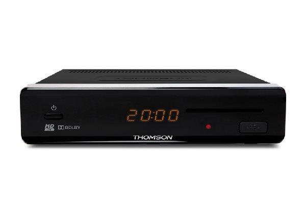 THOMSON DVB-S2 přijímač HD THS 813/ Full HD/ čtečka karet/ USB/ HDMI/ SCART/ S/PDIF/ Timeshift/ Fastscan/ napájení 12V