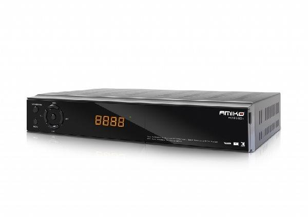 AMIKO DVB-S2/T2 HD kombo přijímač 8260+ CICXE/ Full HD/ čtečka UNI/ S/PDIF/ EPG/ PVR/ RS232/ HDMI/ USB/ SCART/ LAN