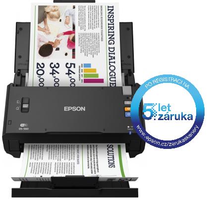 Epson WorkForce DS-560, A4, 600 DPI