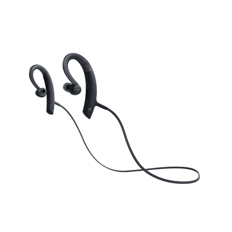 SONY MDR-XB80BS Sportovní bezdrátová sluchátka s uchycením za ucho - Black