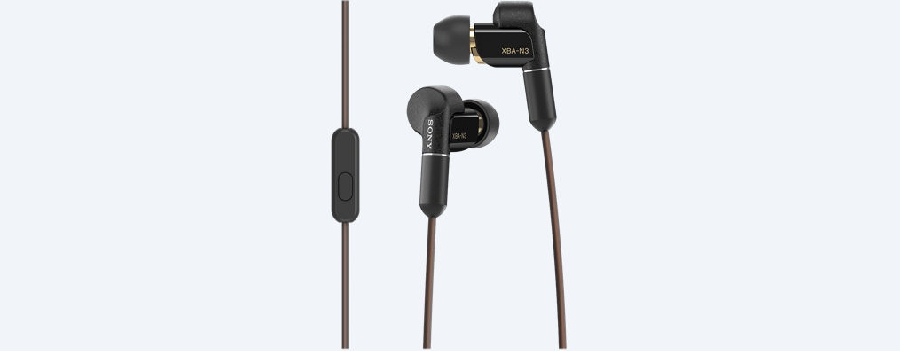 SONY XBA-N3AP Sluchátka do uší pro milovníky hudby