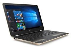 HP Pavilion 15-aw019nc, A10-9600P, 15.6 FHD, R7M440/2GB, 8GB, 256GB SSD, DVDRW, W10, Modern gold