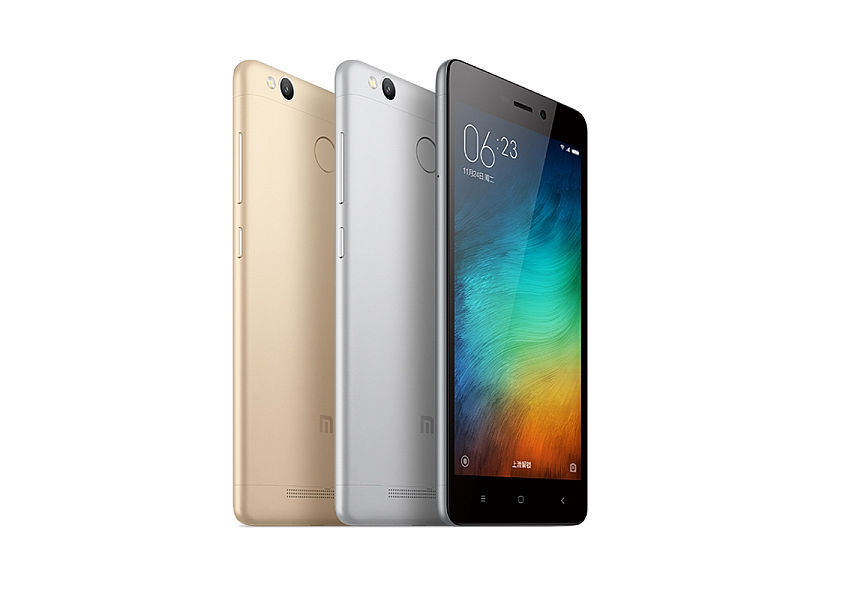 Xiaomi Redmi 3S Gold/ 5´´ HD 1280x720/1,4GHz OC/2GB/16GB/SD/2xSIM/FP/LTE/13MPx/4000mAh