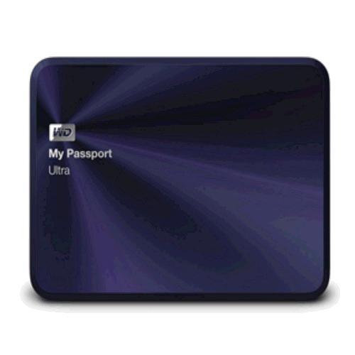 """WD My Passport ULTRA METAL 4TB Ext. 2.5"""" USB3.0, Blue-Black"""