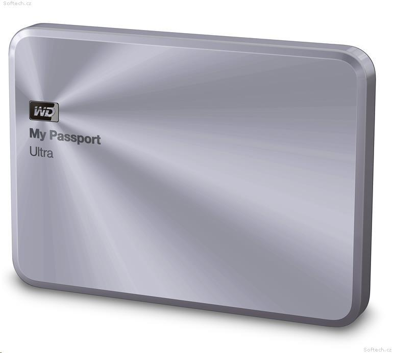 "WD My Passport ULTRA METAL 4TB Ext. 2.5"" USB3.0, Silver"