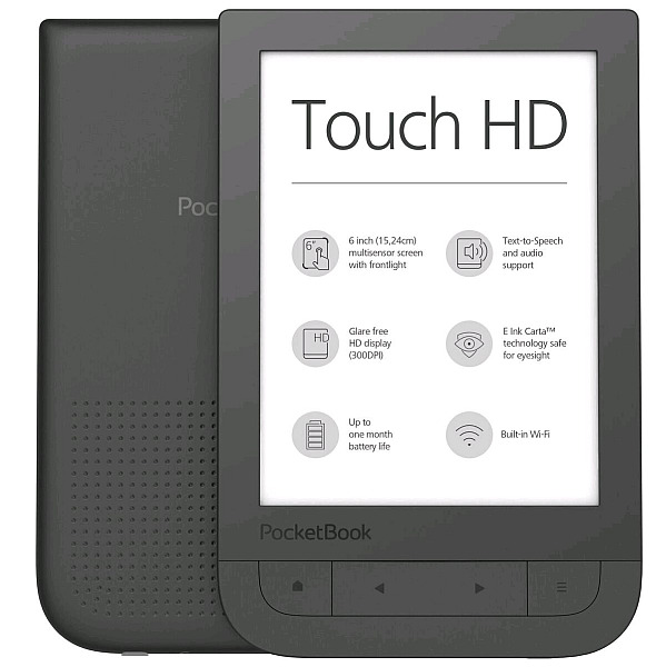 PocketBook 631 HD Touch ebook reader, 6´´ E-ink 1720x1448 LCD, Wifi, 8GB+SD