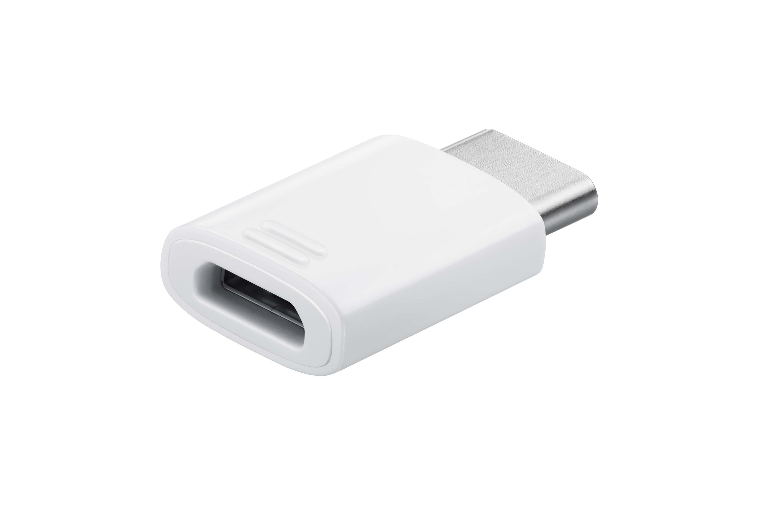 Samsung USB Type C to Micro USB Adapter White