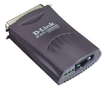 D-Link DP-301P+ Pocket Print Server LAN, 1 LPT