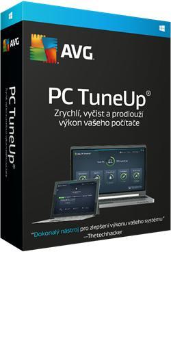 AVG PC TuneUp 2016, 1 PC, 24 měsíců - prodloužení (elektronická licence)