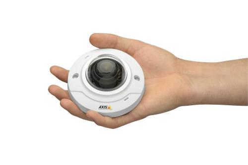AXIS M3044-V, 2.8 mm Fixed lens, PoE, MicroSD/microSDHC, Vandal resistant, HDTV 720p / 1 MP