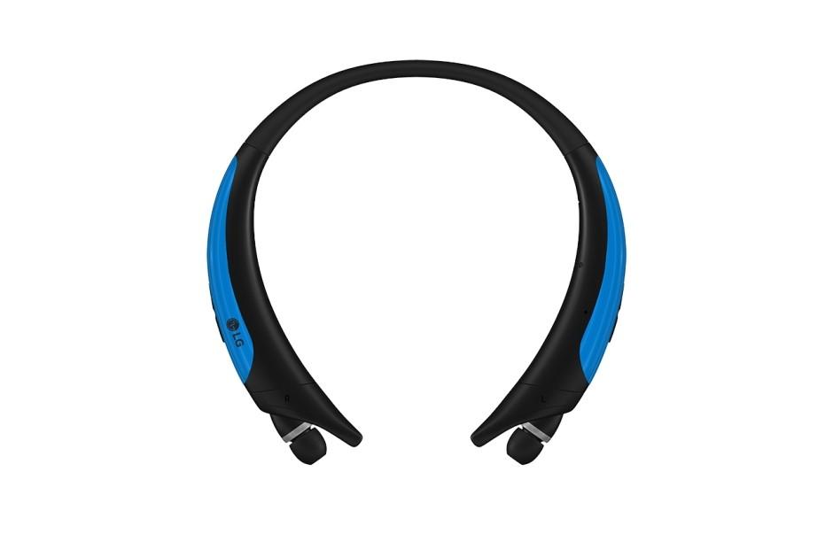 LG HBS-850.AGEUBL Bluetooth stereo headset černá/modrá