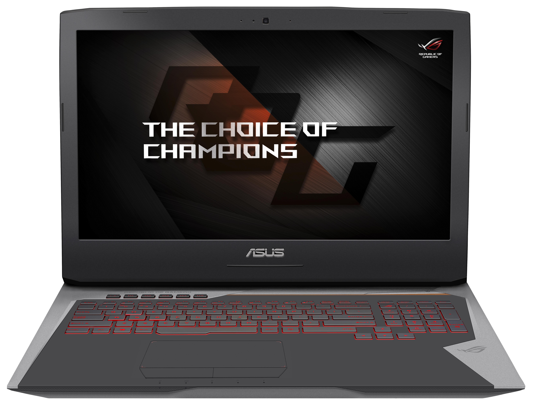 """ASUS G752VS-BA164T i7-6700HQ/16G/1T/7200 + 256G SSD PCIE/DVD-RW/17,3"""" FHD/GTX1070M 8G/W10/šedý"""