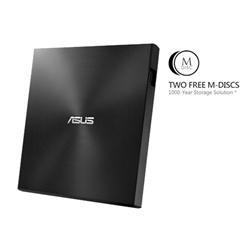 ASUS External Slim SDRW-08U7M-U/BLACK/G/AS, Retail, černá