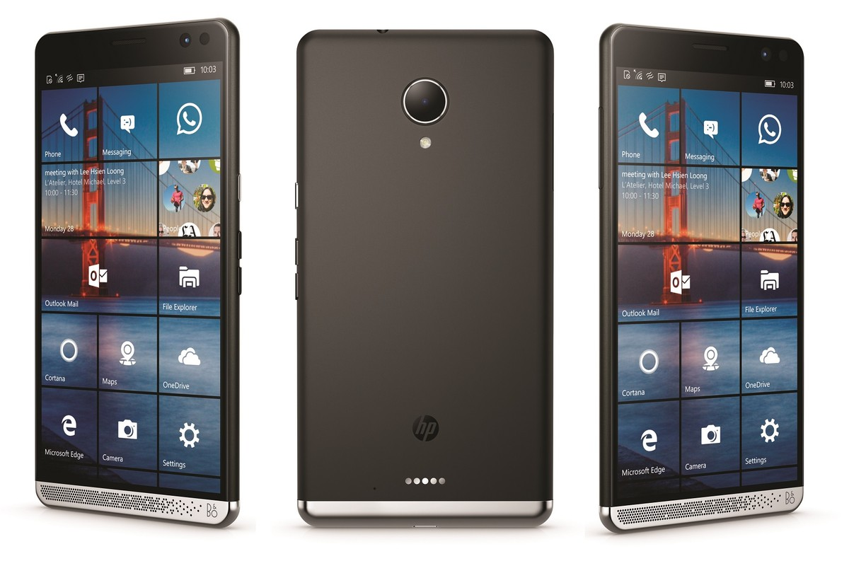 "HP Elite x3 Snapdragon 820 5.96"" 4GB/64GB/NFC/BT/LTE/Win10Mobile"