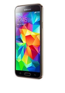 Samsung GALAXY S5 NEO, gold, plně funkční ,opravený/balení obsahuje : adapter/kabel/origo box