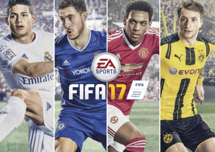 FIFA 17 Xbox 360 CZ/SK