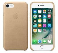 iPhone 7 Leather Case - Tan
