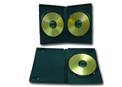 Gembird Obal pro 2 DVD, slim, černý