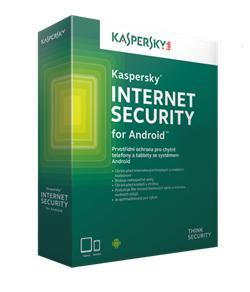 Kaspersky Internet Security for Android CZ, 1x mobil nebo tablet, 12 měsíců - prodloužení (ESD)