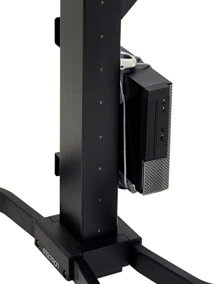 ERGOTRON WorkFit-PD CPU Holder Kit, držák počítače, ke stojanům ergotron