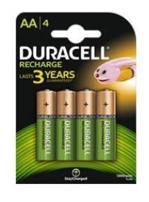 DURACELL rechargeable battery AA 2400mAh B4 (4 pcs)