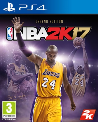 PS4 - ESP: NBA 2K17 Legend Edition
