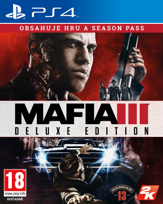 PS4 - ESP: Mafia 3 Deluxe Edition INT