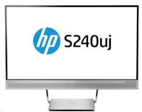 "HP S240uj 23.8"" 2560x1440/300/1000:1/HDMI/MHL/DP/5ms"