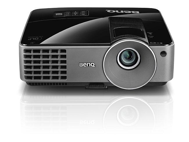BenQ DLP Projektor MS506/3D/800x600 SVGA/3200 ANSI lm/13000:1/1x2W repro