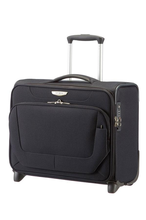 Rolling tote SAMSONITE 38V09013 16,4'' SPARK comp, tablet, pocket, black