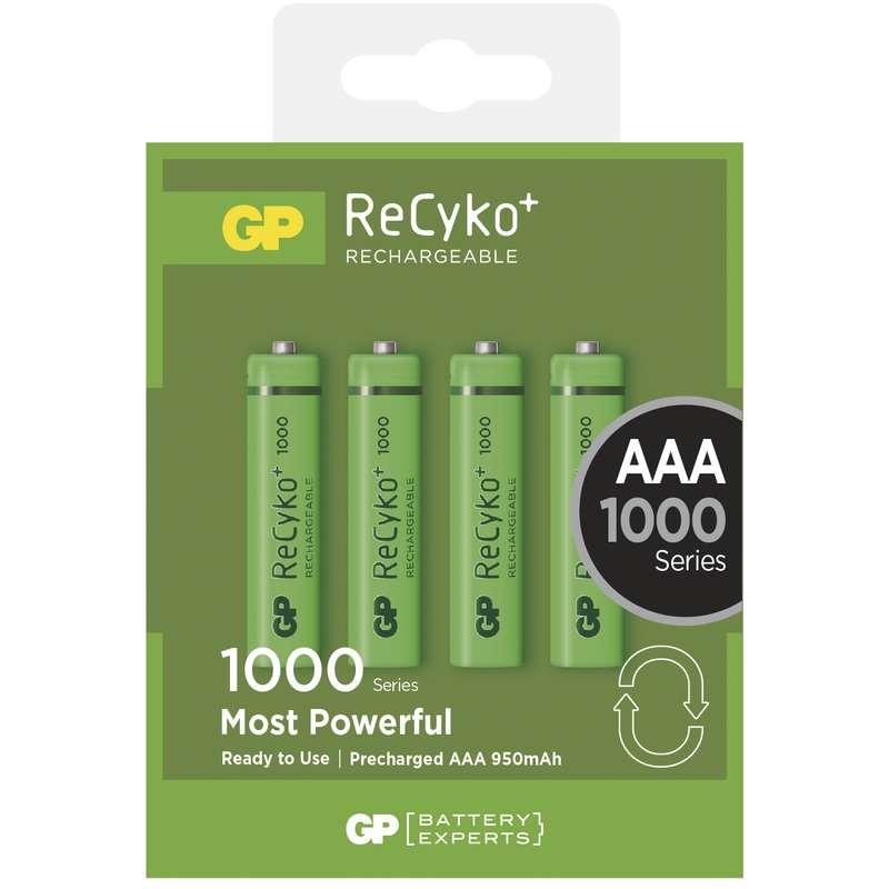 Nabíjecí baterie GP AAA 1000 NiMH 4ks