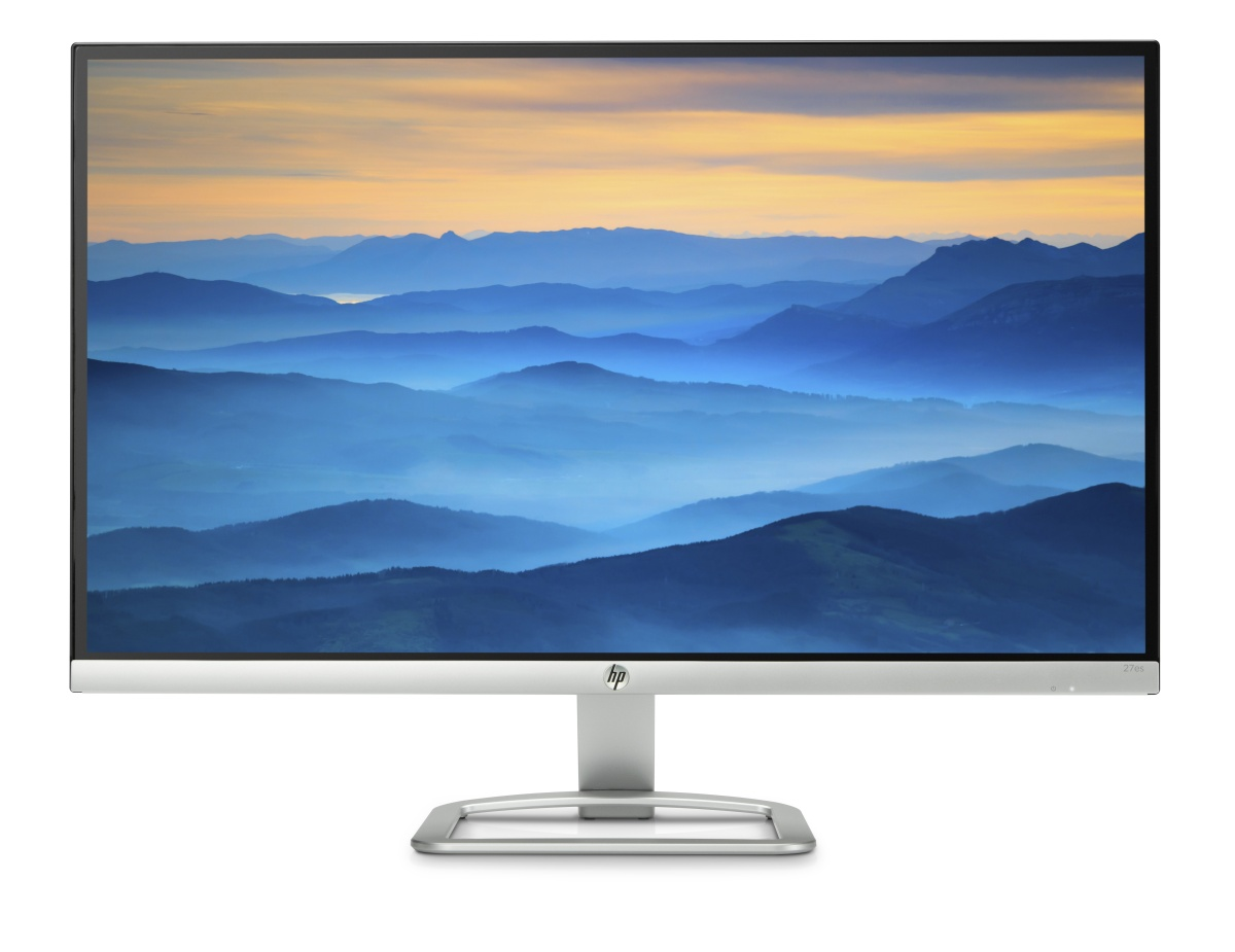 HP 27es IPS w/LED/1920x1080/10M:1/7ms/VGA/2xHDMI
