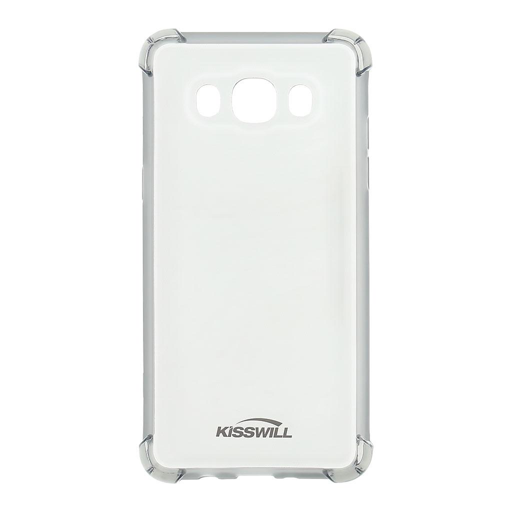 Kisswill Shock TPU Pouzdro Grey pro Samsung J510 Galaxy J5 2016