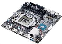 ASUS MB Sc LGA1151 H110S1, Intel H110, 2xDDR4 SODIMM, VGA, mini-STX