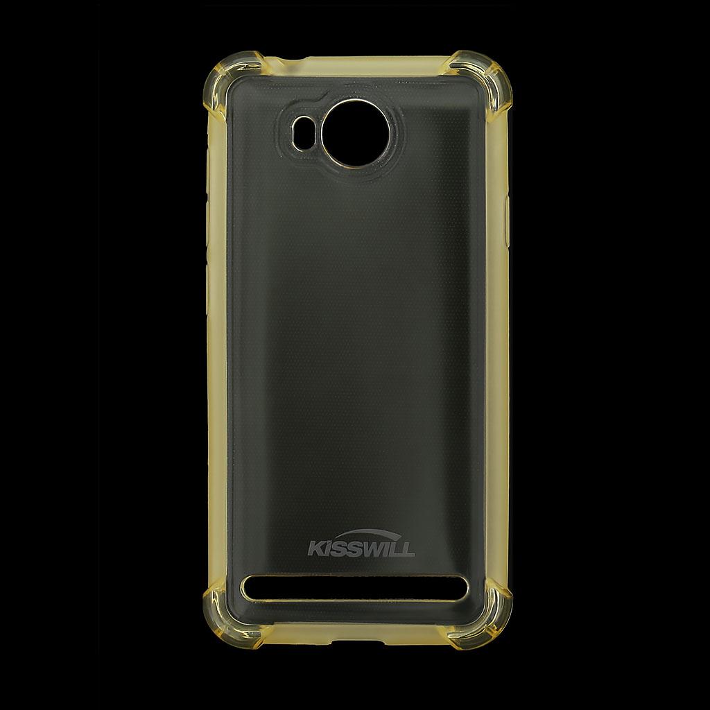 Kisswill Shock TPU Pouzdro Gold pro Huawei Y3 II