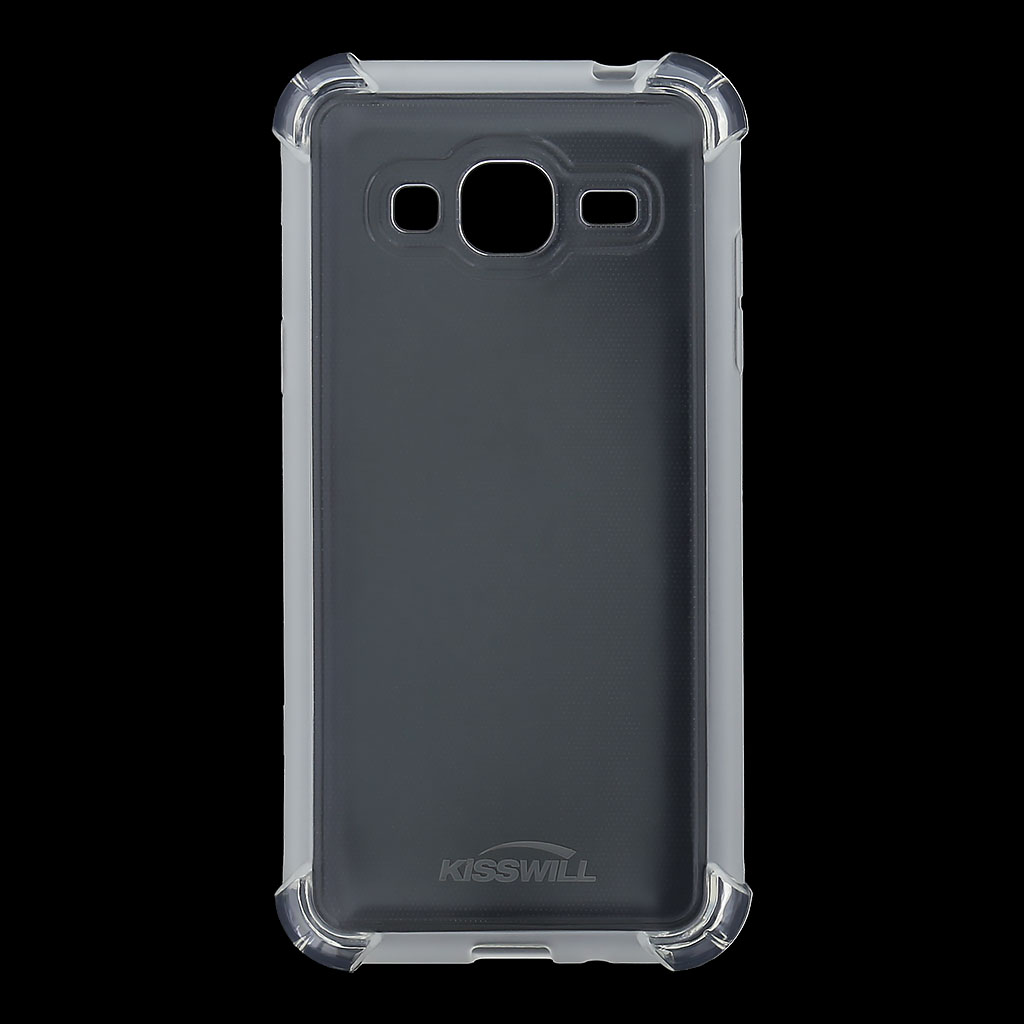 Kisswill Shock TPU Pouzdro Transparent pro Samsung J320 Galaxy J3 2016