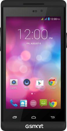 "GIGABYTE GSmart ROMA R2 PLUS Dual SIM 4.0"" IPS, Mediatek MT6582 Quad-Core 1.3GHz , 8GB/1GB, Android 4.4, Černý , POUŽITÝ"