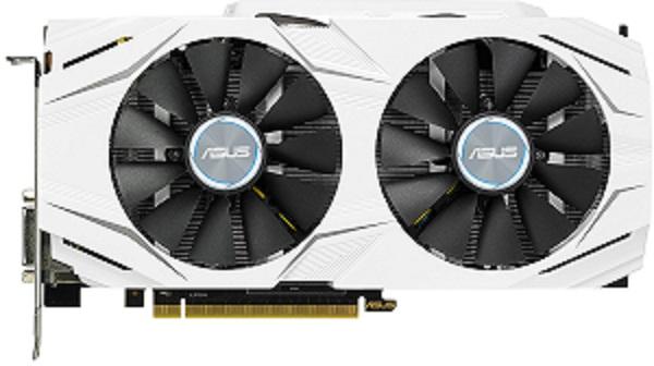 ASUS DUAL-GTX1060-O3G - 3GB GDDR5 (192 bit), HDMI, DVI, 2x DP, 1784boost clock